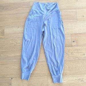 Offline by aerie jogger pants large blue